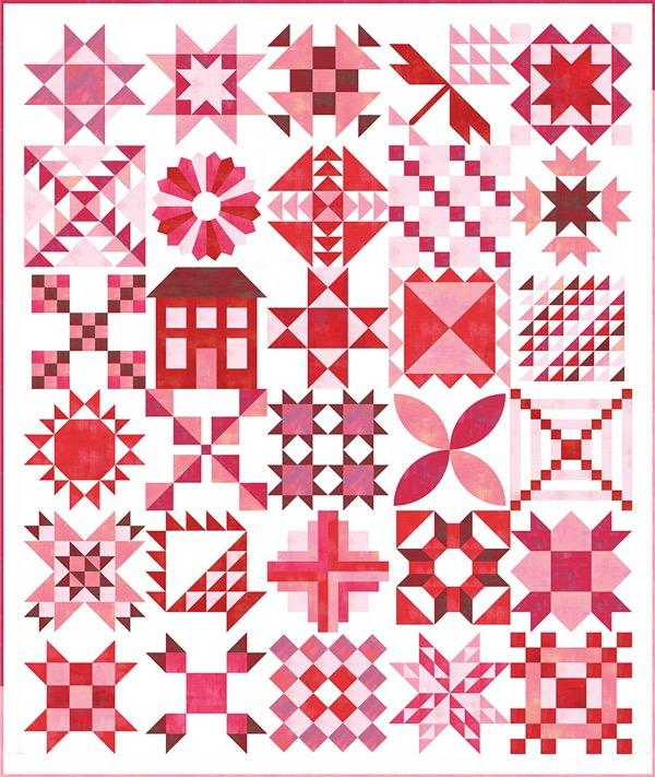 Stitch Pink Quilt Along