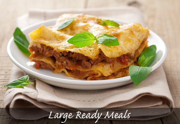 Large Ready Meals