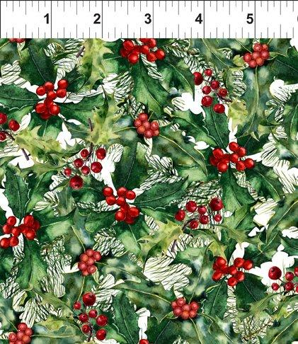 A Poinsettia Winter Quilt at Cary Quilting