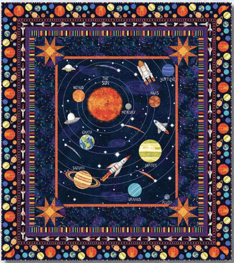 Lost in Space free pattern