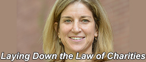 Jill Horwitz leads the American Law Institute's first Restatement of the Law of Charitable Nonprofit Organizations