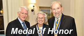 Ralph and Shirley Shapiro receive UCLA Medal
