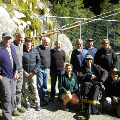 In February the Otago Conservation Board & members of The Department visited Wanaka hotspots under pressure from visitor numbers.