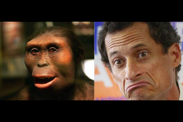 THE FALL OF LUCY THE HOMINID & ANTHONY WEINER THE SCHMUCK: THE HUMBLING IRONY OF TECH