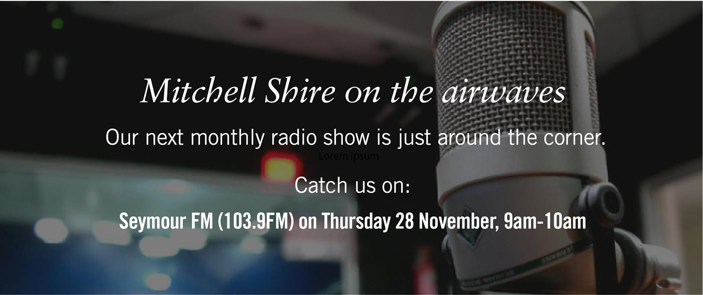 Seymour FM 103.9 on 28 November 9-10am