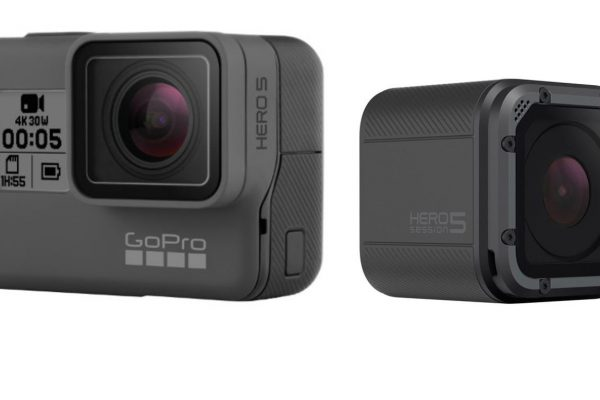 THE NEW GOPRO HERO 5 4K WATER-RESISTANT CAMERAS ARE WORTH A LOOK
