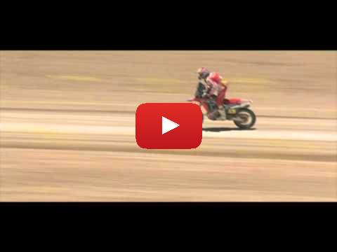 Dakar Rally 2015 Team HRC Stage 4