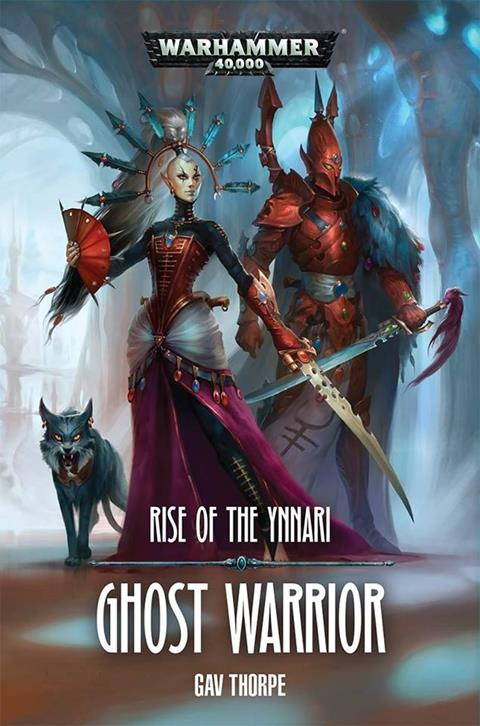 Cover of Ghost Warrior by Gav Thorpe