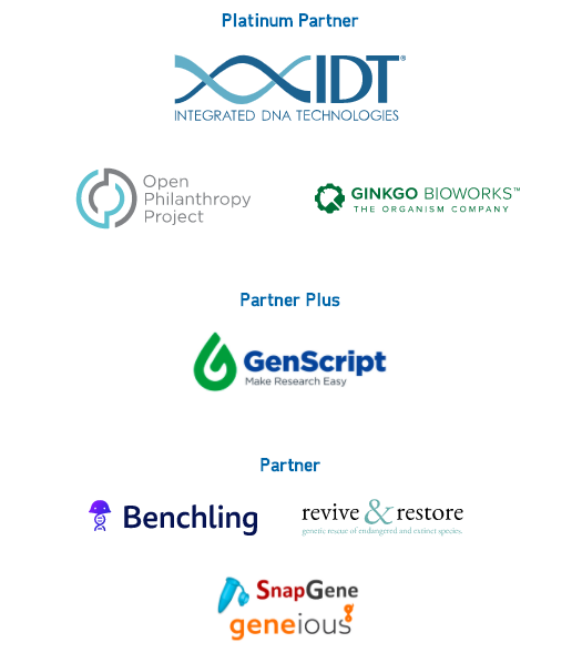 IDT, Open Philanthropy Project, Benchling, Revive & Restore