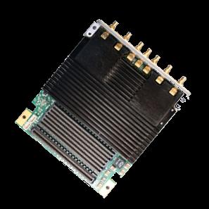 COTS FMC + Mezzanine card with Xilinx Zynq RFSoC