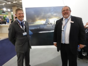 Australian Pump at Euronaval. Credit: APump