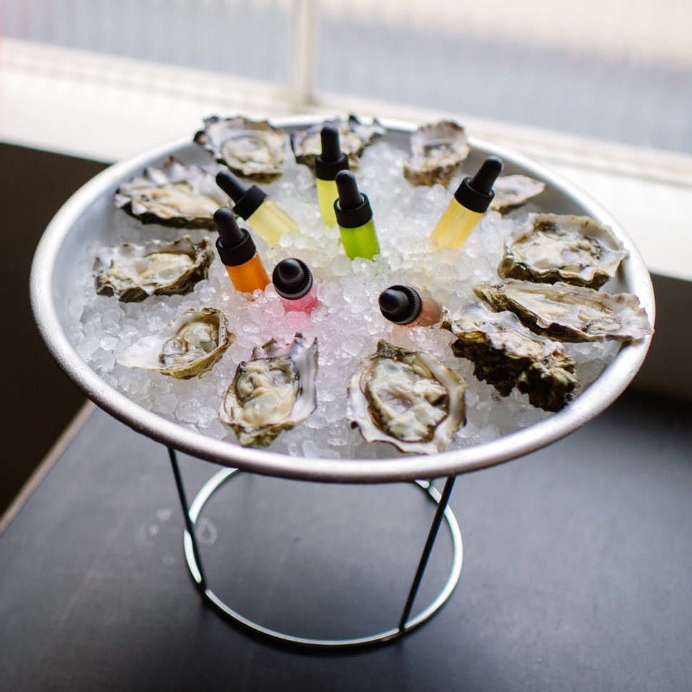 Oysters at Grand Army