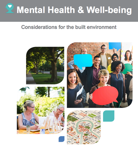 The cover of the Mental Health & Well-being report