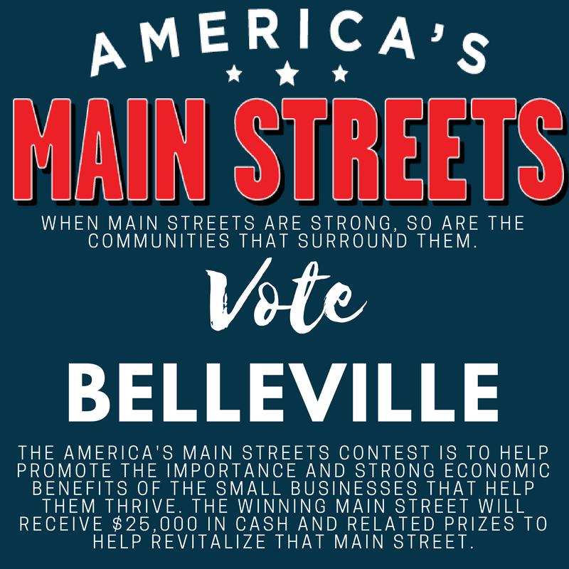 Help Belleville Main Street win $25,000