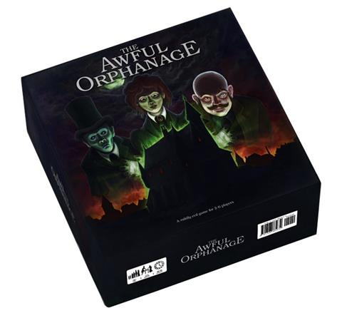 'The Awful Orphanage' Box Artwork