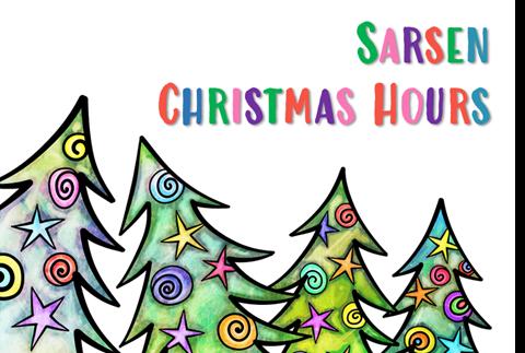 Sarsen Technology Christmas Hours 2020
