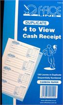 Cash receipt book image