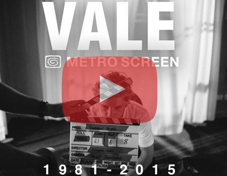 Metro Screen - 34 years