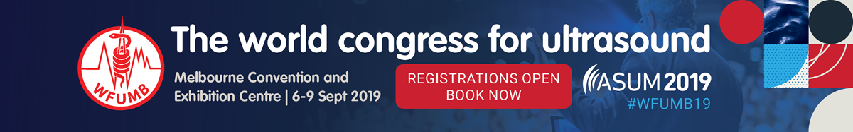 Click here to register for the WFUMB 2019 Congress