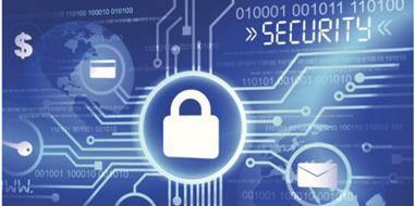 cybersecurity stock photo