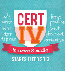 Cert IV in Screen & Media