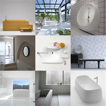 Bathrooms from Dezeen