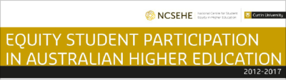 NCSEHE Briefing Note: Equity Student Participation in Australian Higher Education: 2012 to 2016