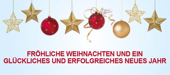 Fröhliche Weihnachten Und Ein Glückliches Und Erfolgreiches Neues Jahr.