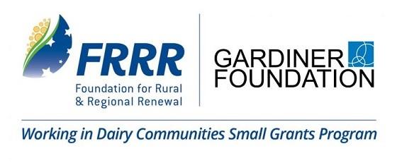 FRRR gardiner foundation working in dairy communities small grants program