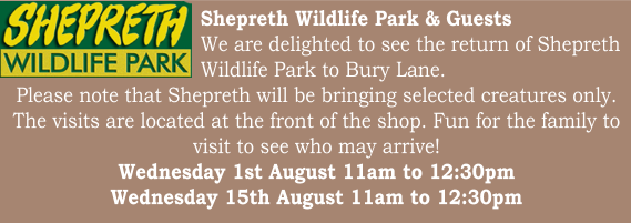 Bury Lane Farm Shop Shepreth Visits August 2018
