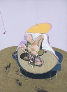 Francis Bacon Lying figure