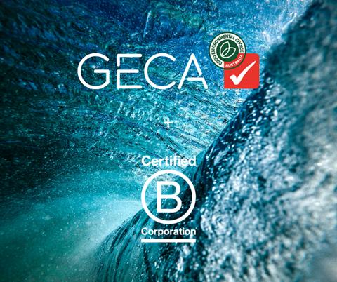 GECA is a certified B Corp