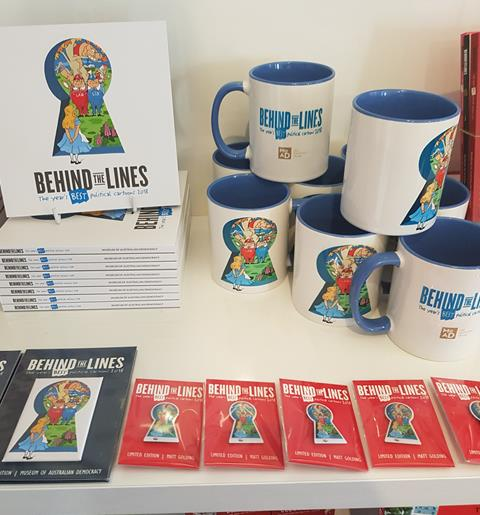 New Behind the Lines Merchandise