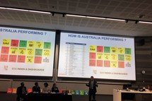 John Thwaites, professor, Monash University, speaks at the Sustainable Development Goals Australia 2016 conference in Sydney. Image: Eco-Business