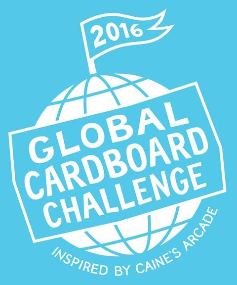 2016 Global Cardboard Challenge Logo