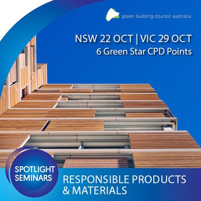GBCA Responsible Products & Materials Seminar