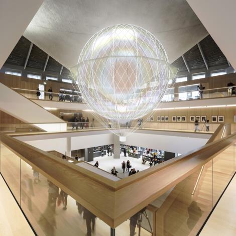 """Loop.pH to install """"mind-powered airship"""" in Design Museum atrium"""