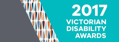 2017 Victorian Disability Awards logo