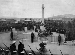 Gibraltar memorial Unveiling