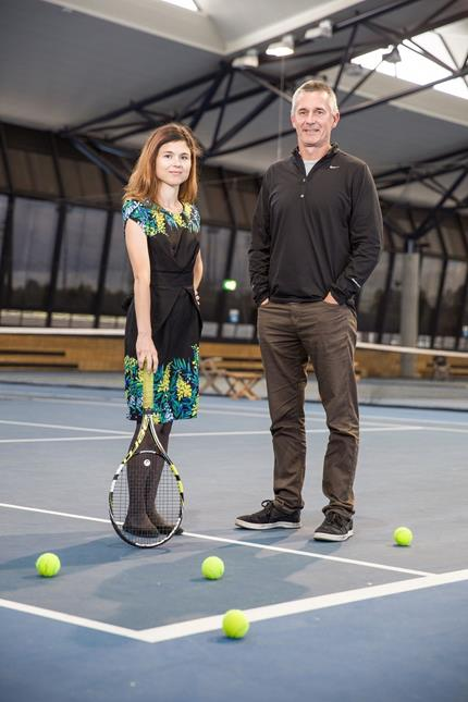 Dr Stephanie Kovalchik and Prof Damian Farrow uncover performance trends on the court.