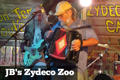 JB's Zydeco Zoo at Cajun Cafe