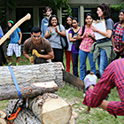 Forestry program sawing comp 2014