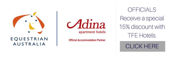 Adina Hotel discount for EA Officials