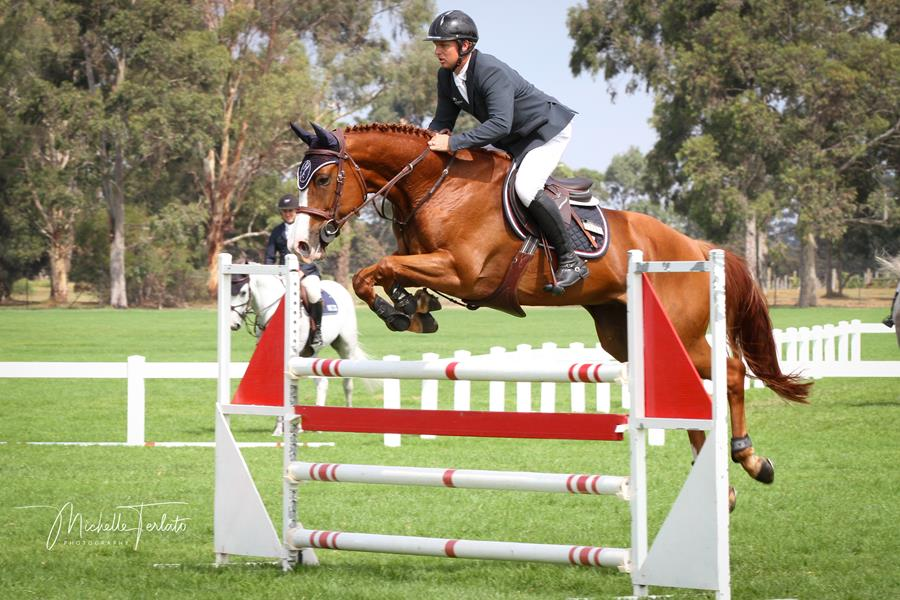 Ciel ridden by Jamie Kermond - 2019 Young Jumping Horse Champion of Champions 📷 : Michelle Terlato