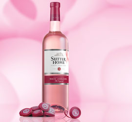 Sutter Home white zin