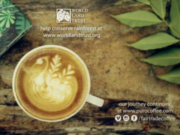 Coffee and conservation video. © Puro Fairtrade Coffee.