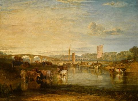 JMW Turner bridges picture
