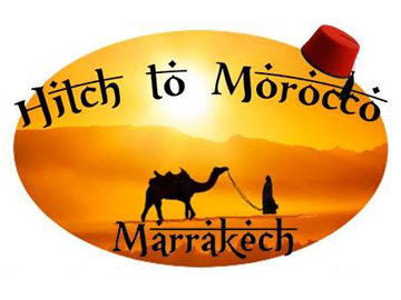 Hitch to Morocco logo. © Leeds Uni Rag.