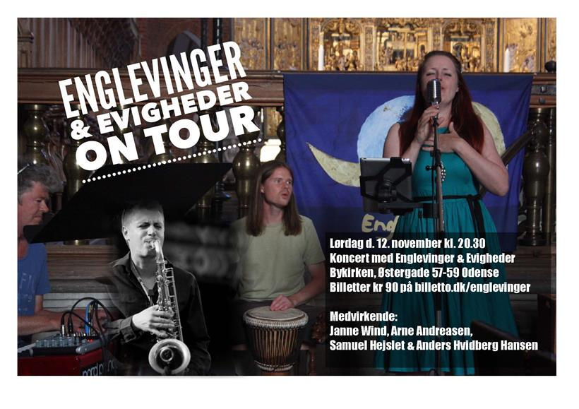 Koncert med Arne og Englevingerne!