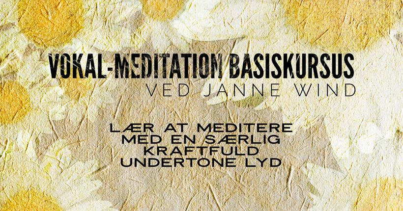 Vokal Meditation online kursus